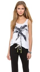 Sundry Palm Tree Boxy Tank