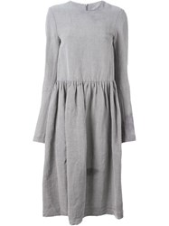 Alice Waese Long Sleeve Big Dress Grey