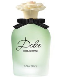 Dolce And Gabbana Dolce Floral Drops Eau De Toilette Spray 1.7 Oz