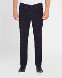 Levi's Navy 511 Corduroy Slim Fit Trousers Blue