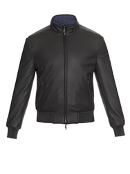 Brioni Reversible Leather Jacket