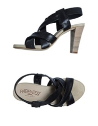 Parentesi High Heeled Sandals Black