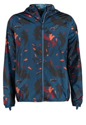 Asics Fujitrail Sports Jacket Okinawa Poseidon Multicoloured