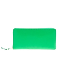 Comme Des Garcons Wallet Zip Top Wallet Green