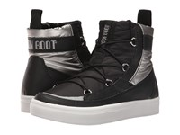 Tecnica Moon Boot Vega Black Silver Cold Weather Boots