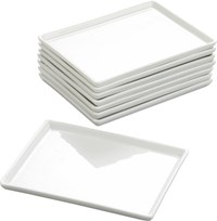 Cb2 Set Of 8 Cuatro Small Platters