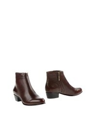 Aerin Ankle Boots Cocoa
