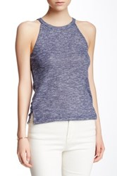 Poof Ribbed Crew Neck Tank Multi