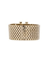 Givenchy Mesh Octagon Bracelet In Metallics