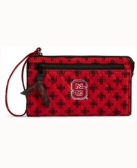 Vera Bradley North Carolina State Wolfpack Wristlet Red