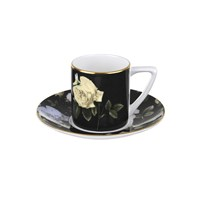 Ted Baker Rosie Lee Espresso Cup And Saucer Black