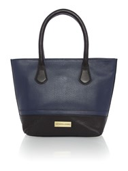 Dickins And Jones Mini Harbury Tote Handbag Navy