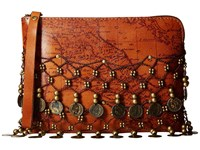 Patricia Nash Cassini Wristlet Rust Wristlet Handbags Red