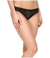 Free People Dreams Do Come True Lace Thong Black Women's Underwear