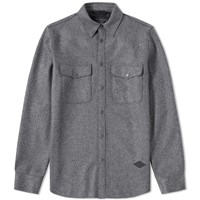 Rag And Bone Jack Flannel Overshirt Grey