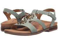 Aetrex Vivian Mint Women's Sandals Green