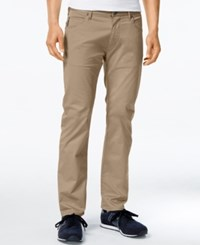 Armani Jeans Men's 5 Pocket Twill Pants Wheat
