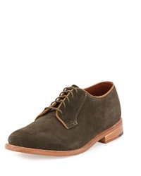 Gorilla Usa Suede Dress Oxford Loden