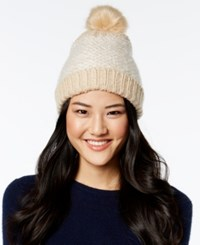 Inc International Concepts Skip Stitch Beanie Only At Macy's Cream