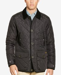 Polo Ralph Lauren Men's Diamond Quilted Jacket Polo Black