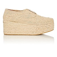 Robert Clergerie Women's Pinto Platform Oxfords Nude