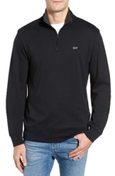 Vineyard Vines Men's Quarter Zip Cotton Jersey Pullover