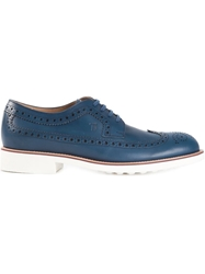 Tod's Classic Brogues Blue