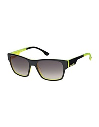 Diesel Square Sunglasses Black