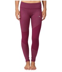 Puma Clash Tights Magenta Purple Heather Women's Casual Pants