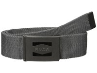 Rvca Hayes Scout Belt Ii Dark Grey Men's Belts Gray