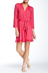 Fleurt Falling In Love Robe Pink