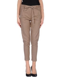 Semi Couture Casual Pants Brown