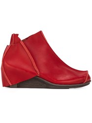 Trippen 'Cubic' Boots Red