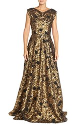 Women's Tracy Reese Embellished Mesh Ballgown