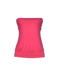 Met Tube Tops Fuchsia