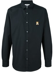 Moschino Toy Embroidered Shirt Black