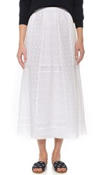 Thakoon Long Skirt White