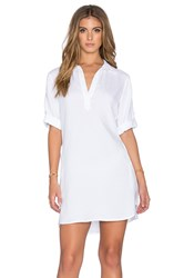 Bella Dahl A Line Shirt Dress White