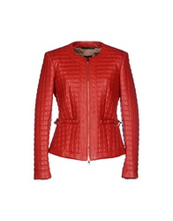 Atos Lombardini Jackets Red