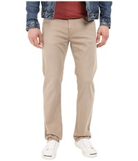 Mavi Jeans Zach Classic Straight Fit In Taupe Comfort Taupe Comfort Men's Casual Pants Beige
