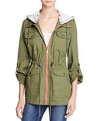 Collection B New York Twill Anorak Jacket Compare At 150 Olive
