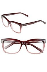 Women's Bobbi Brown 'The Brooklyn' 53Mm Reading Glasses Pink Fade