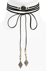 Women's Bp. Faux Suede Wrap Choker