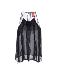 Michelle Windheuser Tube Tops Black