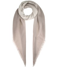 Bottega Veneta Wool Scarf Neutrals