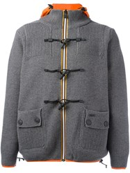 Bark Patch Pocket Jacket Grey