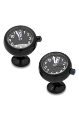 Men's Cufflinks Inc. Watch Cuff Links Black