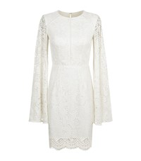 Jovani Lace Dress Female Ivory