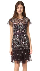 Needle And Thread Enchanted Lace Dress Aubergine