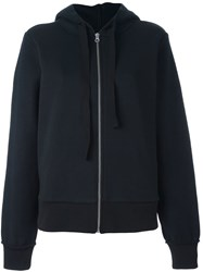 Maison Martin Margiela Mm6 Zip Up Hoodie Black
